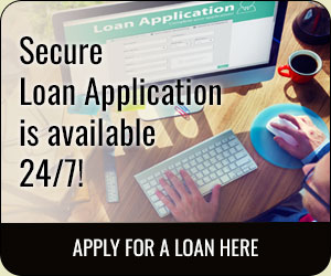 Secure loan application is available 24/7